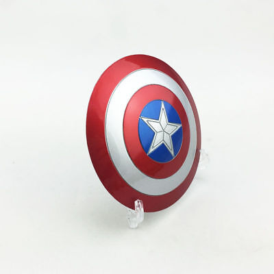 New 1/6 Metal Captain America Shield  Can buckle Hand latest improved Toy  (Toy Shields)