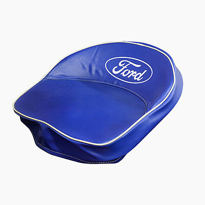 Ford Tractor Script Seat Cover In Blue Fits All  9n-401-b