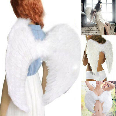 Christmas EXTRA LARGE White Feather Angel Wing Photo Prop adult Women - Large White Feather Wings