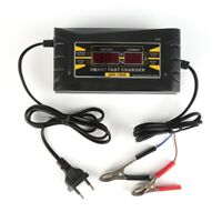 Digital 12V/6A Smart Fast Any Car/Moto Battery Charger