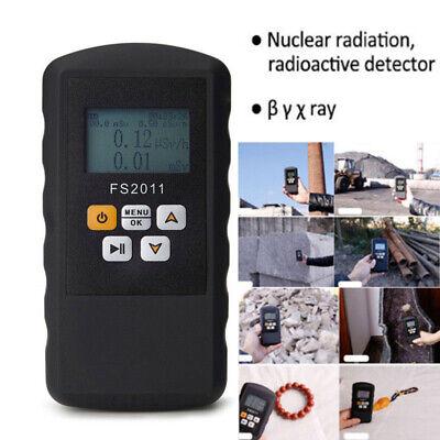 Pro Nuclear Radiation Detector Dosimeter Beta Gamma Xray Geiger Counter Test Kit