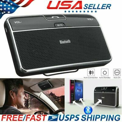 Handsfree Wireless Bluetooth 4.1 Car Speakerphone Sun Visor Speaker Receiver US