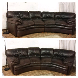 Leather corner sofa for Sale in Sheffield, South Yorkshire | Sofas ...