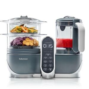 Babymoov Duo Meal Station 5 In 1 Baby Food Processor