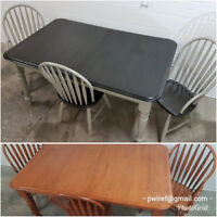 Furniture Restoration and Refinishing