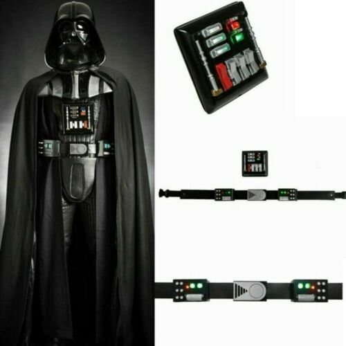 Darth Vader Belt Chest Plate LED Lights Star Wars Cosplay Costume Prop