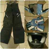 Brand new snowmobiling gear