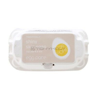 [TONYMOLY] New Egg Pore Shiny Skin Soap 50g*2ea / Black head removing soap