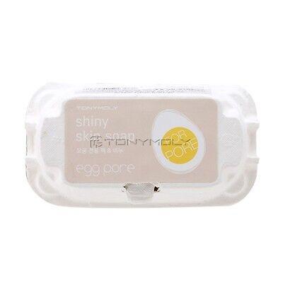 [TONYMOLY] New Egg Pore Shiny Skin Soap 50g*2ea / Black head removing soap