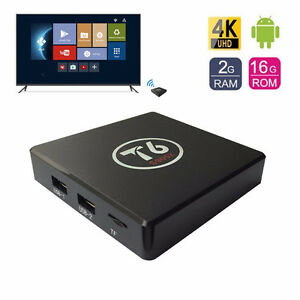 T6 ANDROID BOX WITH ANDROID 7.1.1 NOUGAT KODI 17.1 2GB AND 16GB
