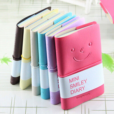 1pc Paper Diary Notebook Smile Note Pads Travel Planner Stationery Sketchbook