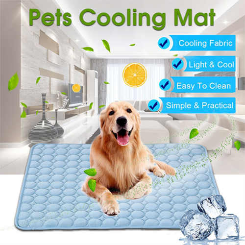 3 Sizes Summer Pet Cooling Mat Non-Toxic Cool Pad Pet Bed Fo