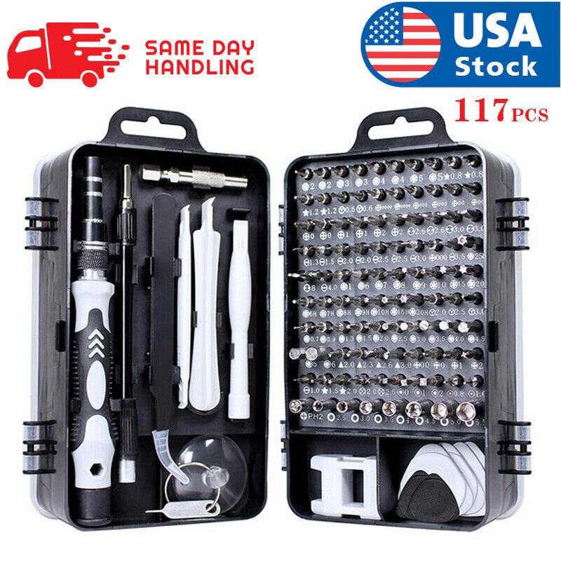 117 In 1 Screwdriver Maintenance Repair Tool Kit Magnetic Electronic Device Tool Hand Tools