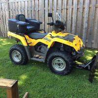 2004 can am outlander 330cc H.O 4x4
