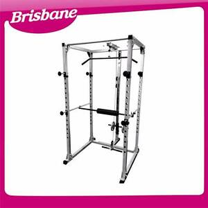 Power Squat Rack Cage Stand with Lat Attachment QLD Eagle Farm Brisbane North East Preview