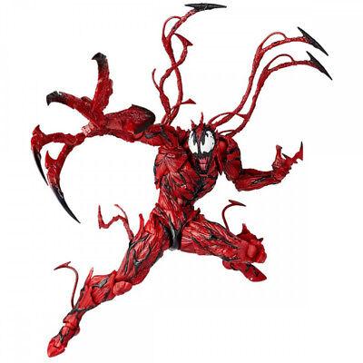 New Marvel Carnage Red Venom No. Revoltech Series PVC Action Figure Toys