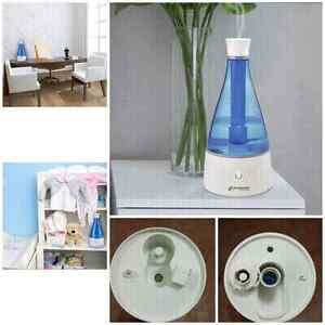 Ultrasonic Humidifier with 10hrs cool mist