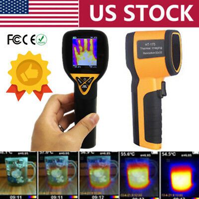 Digital Infrared Thermal Imaging Camera Imager -20℃~300℃ Temperature Thermometer