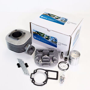 SUZUKI LT80 LT 80 CYLINDER PISTON GASKET TOP END KIT SET