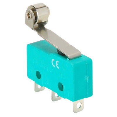 Spdt Miniature Snap-action Micro Switch With Roller Lever