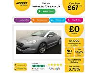 Peugeot RCZ 1.6 THP ( 200bhp ) 2013MY GT FROM £67 PER WEEK!
