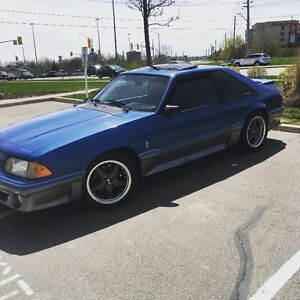 88' Ford Mustang GT Cobra package / Sharp and Clean