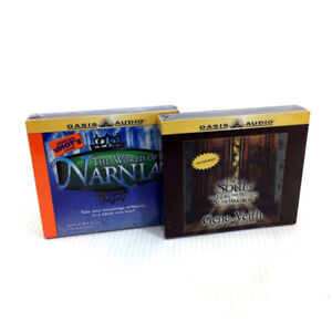Lot 2 Chronicles Of Narnia CD Audiobooks Nonfiction Supplements