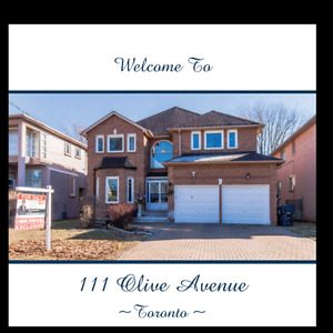 MLS PRESENTS A BEAUTIFUL HOUSE LOCATED IN EAST WILLOWDALE/FINCH
