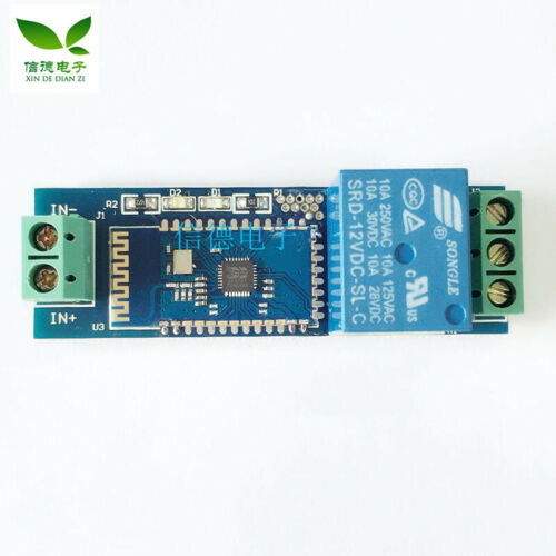 1pc B47 Bluetooth Relay Remote Switch 12v Relay Module