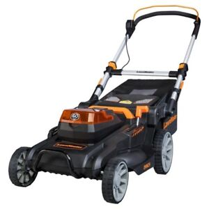 "Lawnmaster 19"" 60 Lithium Cordless Walk Behind Push Mower"