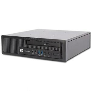 HP EliteDesk 800 G1 USDT Business Desktop core i3-4160 3.60GHz 8 GB 320 GB DVD Win 7 Pro