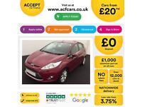 Ford Fiesta 1.4TDCi 2010.5MY Zetec FROM £20 PER WEEK