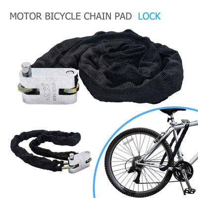 1.8M Bike Chain Lock Bicycle Heavy Duty Security Padlock Motorcycle Motorbike UK
