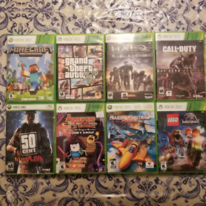 Huge Collection Of Xbox 360 Games, Some Rare, Most Only $5!!