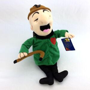 "Mr Magoo Plush Stuffed Animal Doll 2005 Toy Factory 16"" Tall"