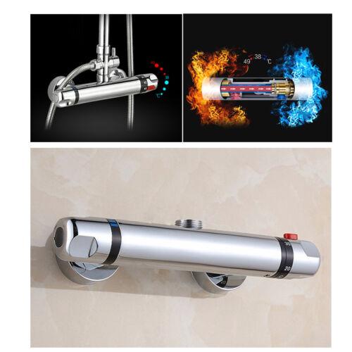 Thermostat Duscharmatur Einhandmischer Mischbatterie Brause Bad Brausethermostat