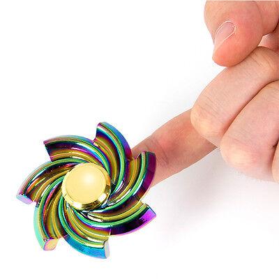 Kmise 5-7 min Long Lasting Fidget Spinner EDC Finger Spinner Toy Tiny Noise