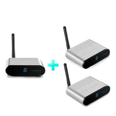 Av220-2 2.4G Av 1 Sender 2 Empfänger Wireless 200M Video Audio Sender Empf W9Q5 2.4 G Wireless Av Sender