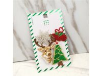 Christmas brooches/pins