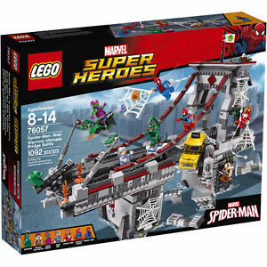Lego Super Heroes Spider-Man - Bridge Battle (Brand New Sealed)