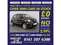 Renault Twingo Dynamique Energy Tce S/S 0.9 Manual Petrol GOOD / BAD CREDIT