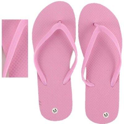 Bulk Flip Flops (Women's Flip Flops, Wholesale lot of 48 pairs, Pink Color with assorted)