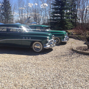 1951 Oldsmobile 98 and Buick special