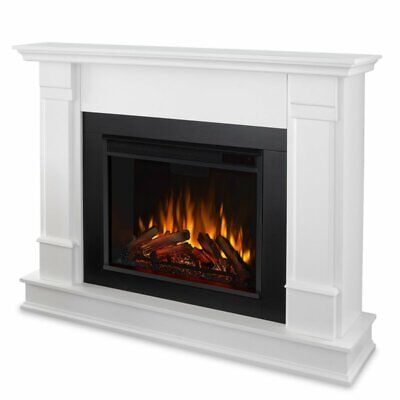 Hudson Electric Fireplace in Black