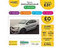 Volkswagen Polo 1.2 ( 60ps ) 2013.5MY Match Edition FROM £31 PER WEEK!