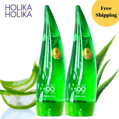 HOLIKA HOLIKA 99% Aloe Soothing Gel Aloe Vera Gel Skin Care Remove Acne Moisturi