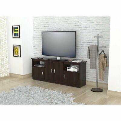 """Inval Contemporary Espresso 60"""" Flat-Screen TV Stand"""