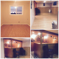 Room Plus Basement Living Area for Rent