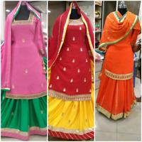 Rental Outfits for Gidha/Wedding parties