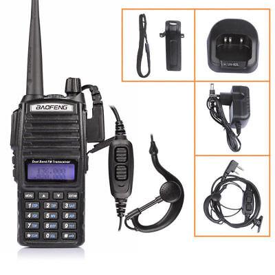 Baofeng UV-82L V/UHF 136-174/400-520MHz Two-way Radio Walkie Talkie + Earpiece
